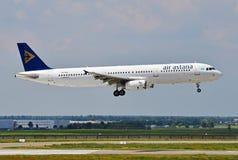 Air Astana Airbus A321 Photo stock
