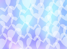 Air background-heart Royalty Free Stock Photos