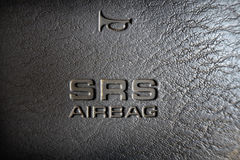 Air bag. In car will safe your life Stock Photography