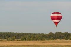 Air-ballon de l'équipe russe Image stock