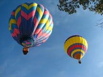 air ballonger varma två Arkivbild