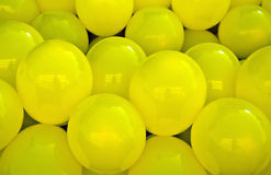 Air ballons background Stock Photo