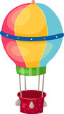 Air balloon. Illustration of isolated air balloon Royalty Free Stock Photography