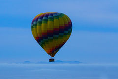 Air Balloon in Blue Sky Royalty Free Stock Photography
