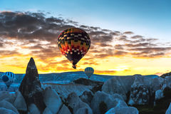 Air balloon in Cappadocia, Turkey Stock Image
