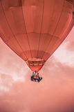 Air Balloon closeup flying Royalty Free Stock Photography