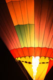 Air balloon in the evening sky Royalty Free Stock Images