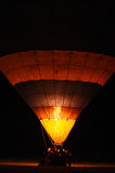 Air balloon in the evening sky Royalty Free Stock Image