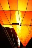Air balloon in the evening sky Royalty Free Stock Photos