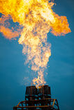 Air balloon gas burner Royalty Free Stock Photography