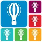 Air balloon Icon. Vector illustration vector illustration