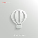 Air Balloon icon - vector web background. Air Balloon icon - vector concept background Royalty Free Stock Images
