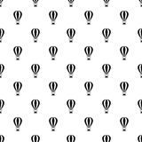 Air balloon pattern, simple style Stock Photography