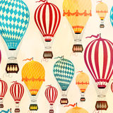 Air balloon pattern Royalty Free Stock Image