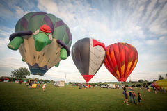 Air Balloon Show Stock Images