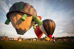 Air Balloon Show Stock Image