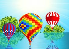 Air balloons Stock Photos