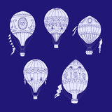 Air Balloons Backgr-16 Royalty Free Stock Images