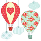 Air balloons 4 Stock Images