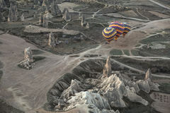 Air balloons on the ground Royalty Free Stock Photography