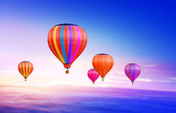 Air-balloons In Sky Royalty Free Stock Image