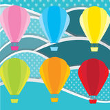 Air balloons Stock Photography