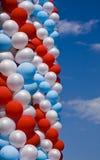 Air balloons on sky Stock Photos