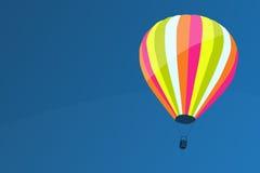 Air baloon. Illustration of hot air baloon Royalty Free Stock Photography