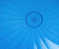 Air baloon inside. Shot of blu air baloon inside. Abstract background Royalty Free Stock Images