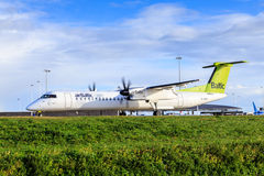 Air Baltic Bombardier Q400 Royalty Free Stock Photo