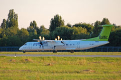 Air Baltic De Havilland DHC-8 Royalty Free Stock Photography