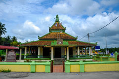 Air Barok Mosque at Jasin Malacca, Malaysia Stock Images