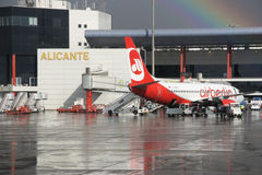 Air Berlin Stock Photography