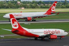 Air Berlin Photos libres de droits