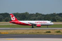 Air Berlin Royaltyfri Foto