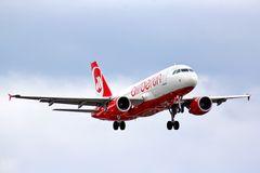 Air Berlin Airbus A320 Photos libres de droits