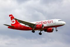 Air Berlin Airbus A319 Images libres de droits