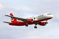 Air Berlin Airbus A320 Images stock