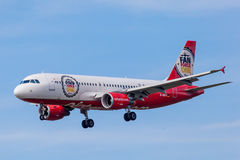 Air Berlin Airbus A320-200 Photos libres de droits