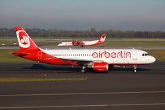 Air Berlin Airbus A320 Photo libre de droits