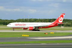 Air Berlin Airbus Stock Photos