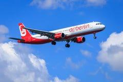 Air Berlin Airbus A321 Stock Photo