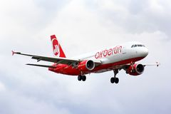 Air Berlin Airbus A320 Stock Photos
