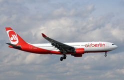 Air Berlin Airbus jet Royalty Free Stock Images