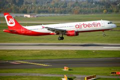 Air Berlin Airbus Royalty Free Stock Photos