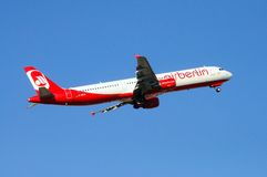 Air Berlin A-321. Stock Photo