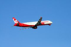 Air Berlin A-321. Royalty Free Stock Photo