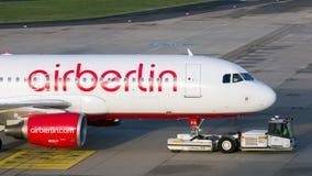 Air Berlin Aurbus A320 Photo libre de droits