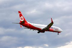 Air Berlin Boeing 737 Photographie stock libre de droits