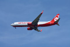Air Berlin Boeing 737 Royalty Free Stock Images